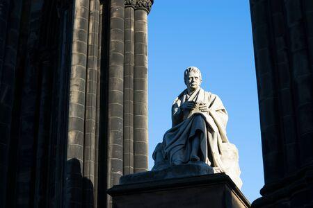 Walter Scott's monument. Edinburgh. Scotland. UK.