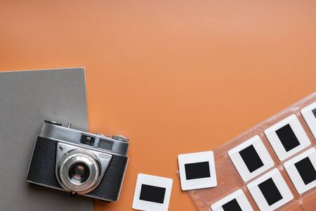 Photo for Close up of Vintage & retro camera in the studio - Royalty Free Image