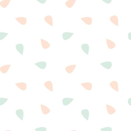 Illustration pour cute lovely pink and blue vector seamless abstract background pattern illustration - image libre de droit