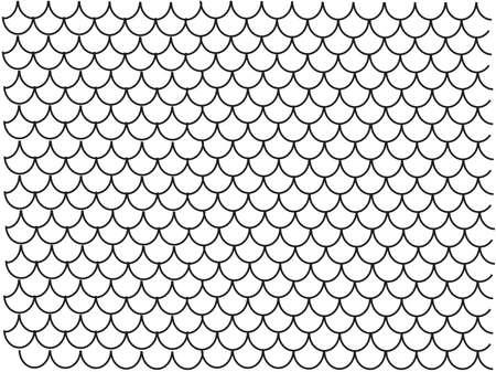 Illustration pour Tiling on a white background. Vector illustration. - image libre de droit