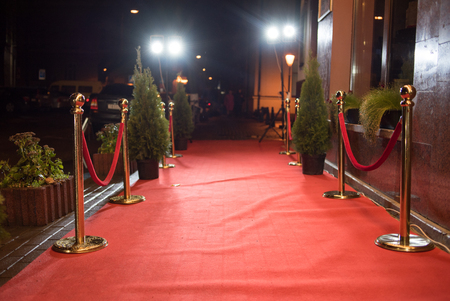 Foto de Red carpet entrance - Imagen libre de derechos