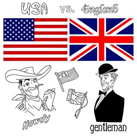 America versus Great Britain