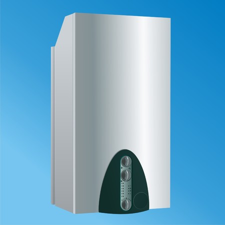 heating boiler vector3