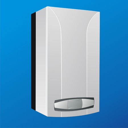 heating boiler vector2