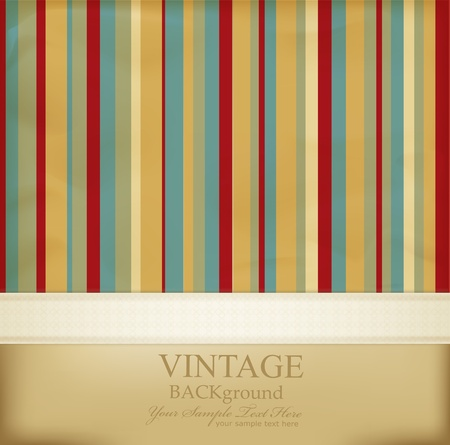 vintage striped abstract background