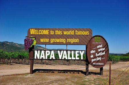 Photo pour Napa Valley View - image libre de droit
