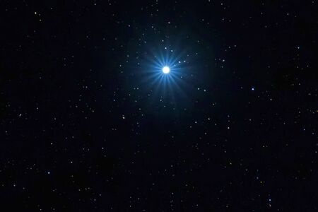 Photo for Sirius Brightest star on Night sky, Sirius Star - Royalty Free Image
