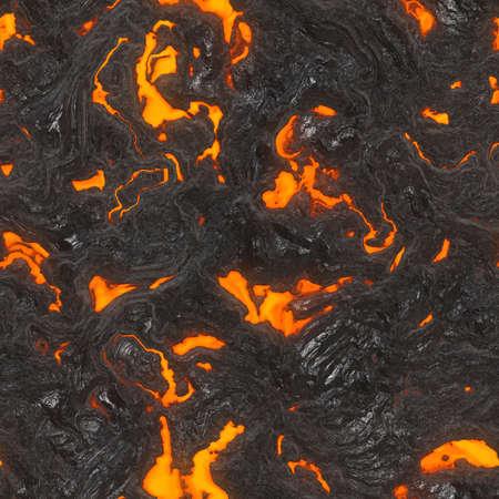 Lava Flow Seamless Texture Tile