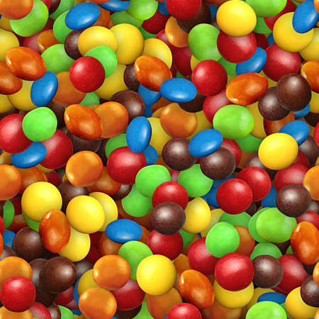 Candy Seamless Texture Tile