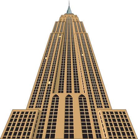 Foto de Empire State Building Illustration - Imagen libre de derechos