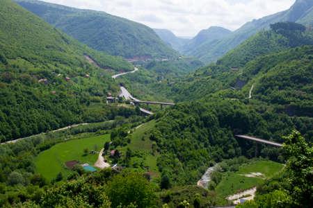 Valley River Miljacka, Sarajevo