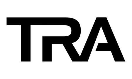 Letter TRA modern logo concept design.