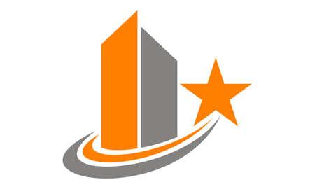 Illustration pour Best real estate marketing - image libre de droit