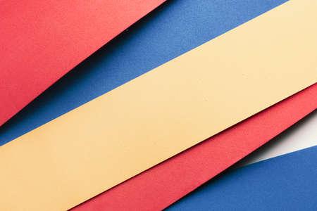 Photo pour Close-up of colorful stripes, texture background - image libre de droit