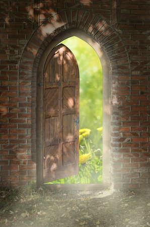 Door to new world  The door to paradise