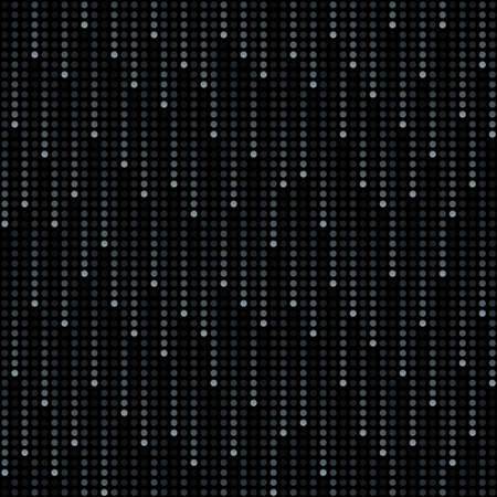 cosmic rain of halftone dots (seamless background)