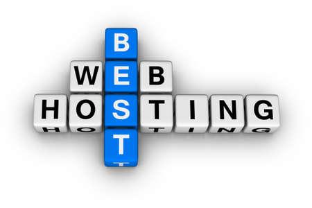 Photo pour best web hosting - image libre de droit