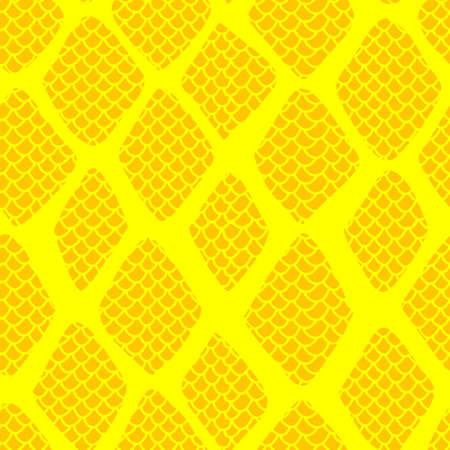 Snake skin seamless pattern vector illustration . Fashionable animal print. Exotic reptile stylish texture background
