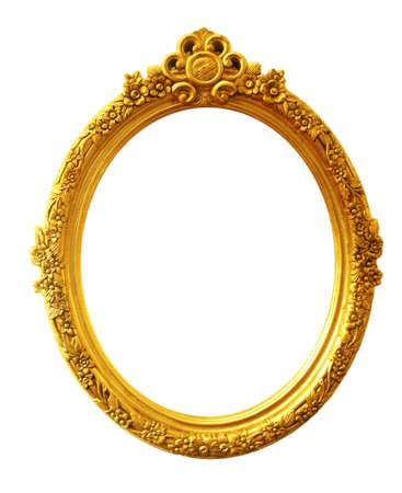 old antique gold frame