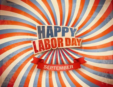 Labor day celebration background. Vector