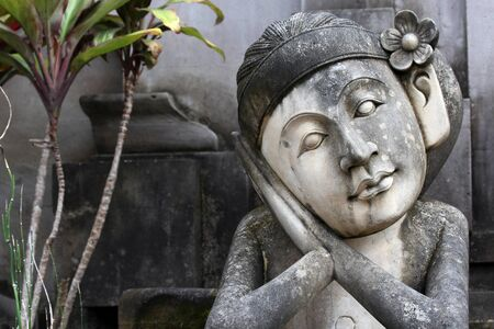 Balinese statue horizontal