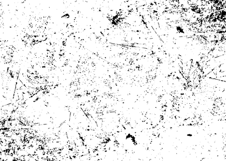 Photo for Grunge texture white and black. Sketch abstract to Create Distressed Effect. Overlay Distress grain monochrome design. Stylish modern background for different print products. Vector illustration - Royalty Free Image