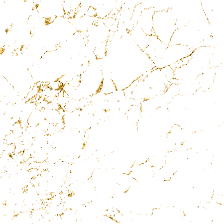 Marble gold grunge texture. Patina scratch golden elements. Sketch surface to create distressed effect. Overlay distress grain graphic design. Stylish modern background decoration.