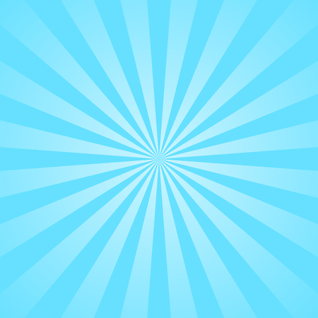 Blue Rays Poster Popular Ray Star Burst Background