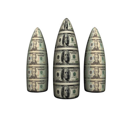 bullets with us dollars texture