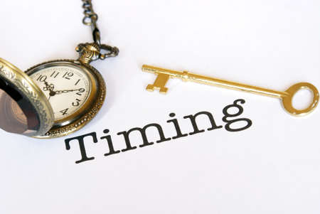 A concept of management on how timing is everything.