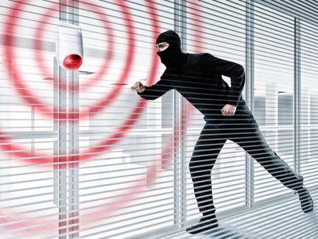 Photo pour Alarm for stealing a thief - image libre de droit
