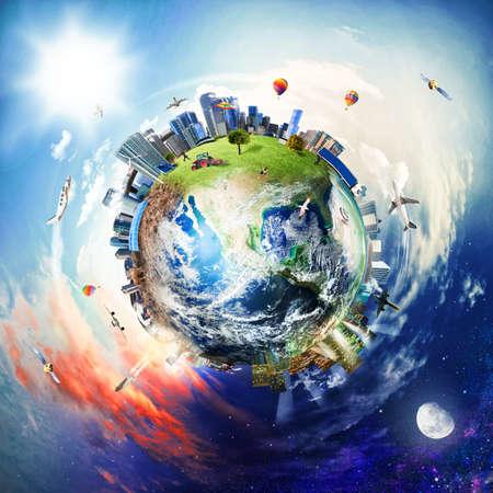 Foto de Global view of business world - Imagen libre de derechos