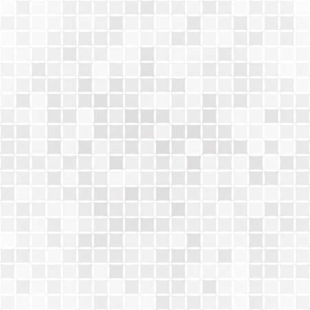 Illustration for Abstract background of small squares or pixels in gray colors - Royalty Free Image