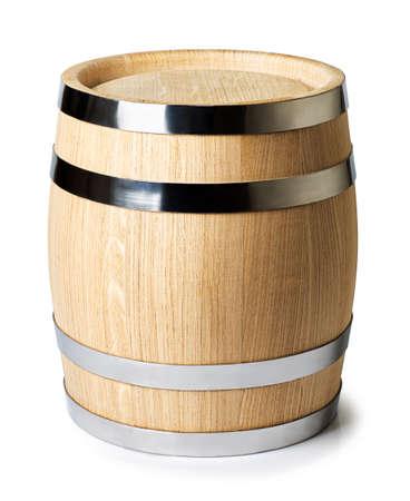 Foto de wine barrel isolated - Imagen libre de derechos