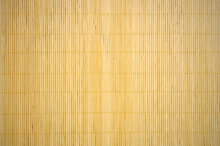 textured background with bamboo mat
