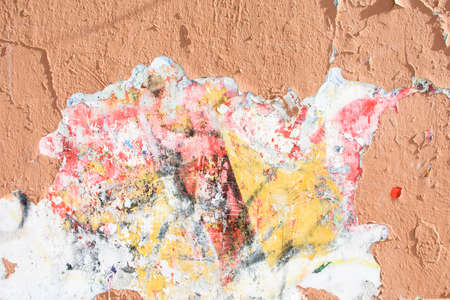 Photo for Old red wall of plaster, great for design and texture background. - Royalty Free Image