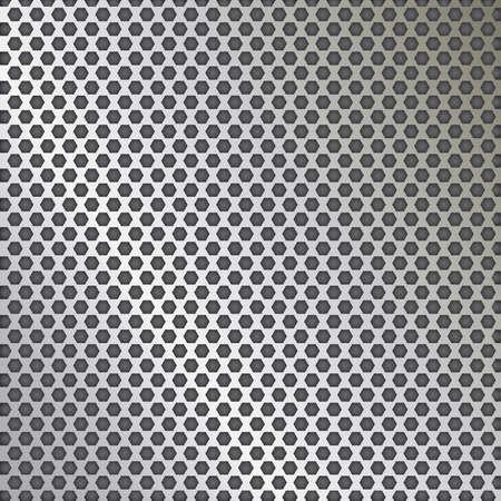 Photo pour Metal grid texture vector - image libre de droit