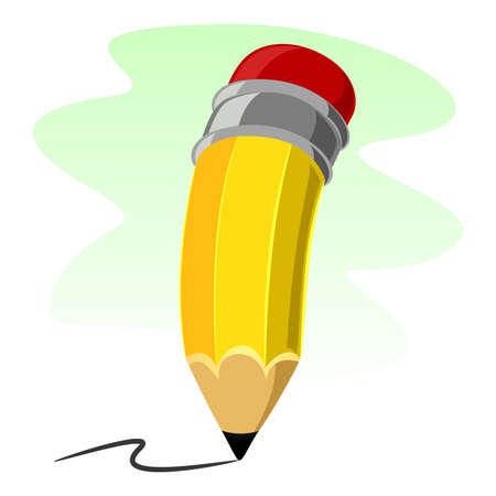 Illustration pour Vector Illustration of Pencil - image libre de droit