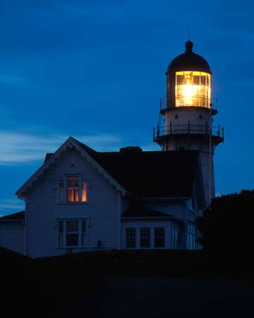 Cape Elizabeth lighthouse is one of the most powerful lighthouses on the Maine coast.