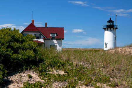 Race Point Lighthouse lies on the edge of the Cape Cod National Seashore, near Provincetown, Massachusetts.