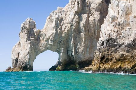 Lands End rock formations at the very end of the Baja peninsula near Cabo San Lucas, Mexico