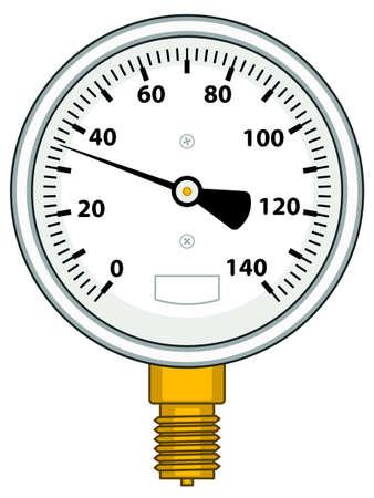 Illustration of the manometer icon