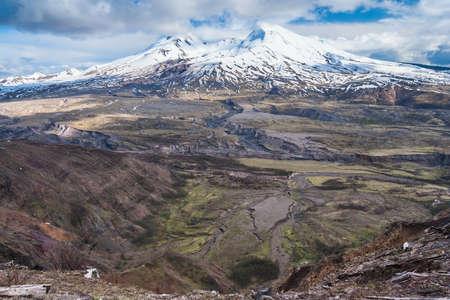 Mount St. Helens in Washington, USA