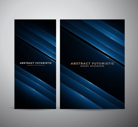 Photo pour Abstract banner and poster futuristic background, Abstract art wallpaper. Vector illustration. - image libre de droit