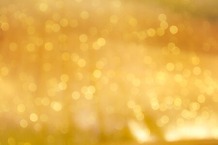 Photo pour Colorful golden bokeh sparkle glitter abstract patterns for Christmas and Happy new year background - image libre de droit
