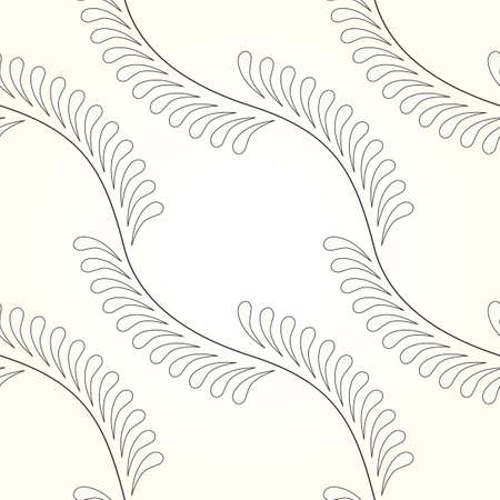 Vector interlocking circles repeat tile pattern