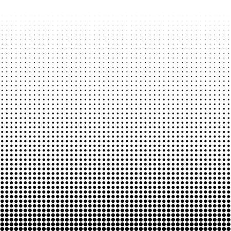 Vector illustration of a halftone.