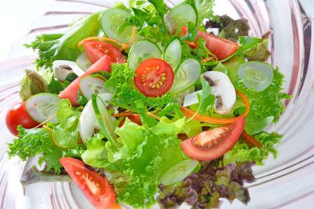 vegetables salad on plate