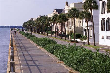Historic houses in Charleston, SC