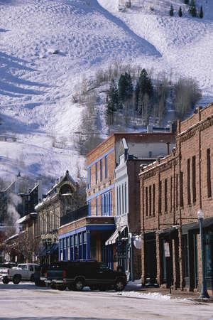 Storefronts, Aspen, Colorado